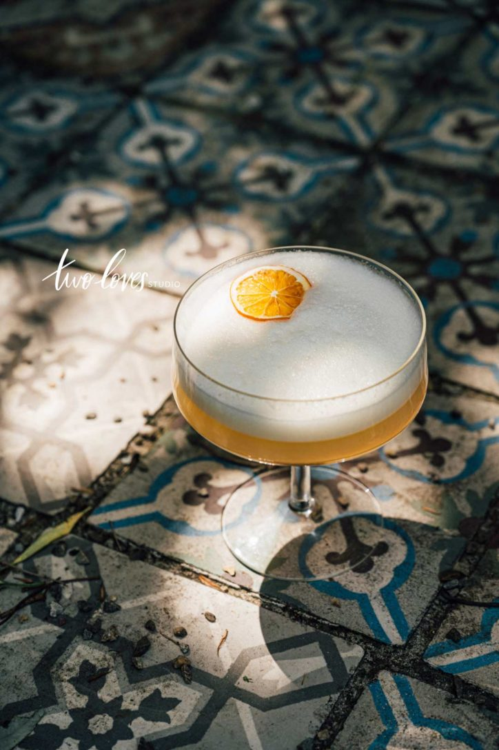 Rachel Korinek Tiled cocktail photography