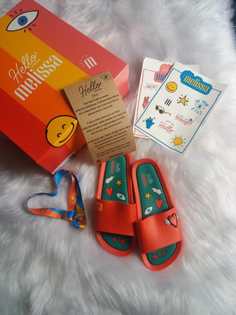 1ª Box Hello Melissa by Line Lihh