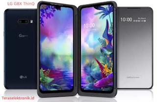 LG G8X ThinQ Ponsel Lipat Dengan Dua Layar