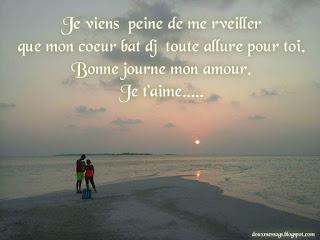bonjour amour image