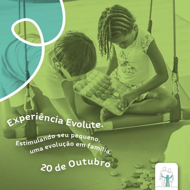 Evento gratuito promove oficinas sensório-motoras e nutricionais para bebês e crianças