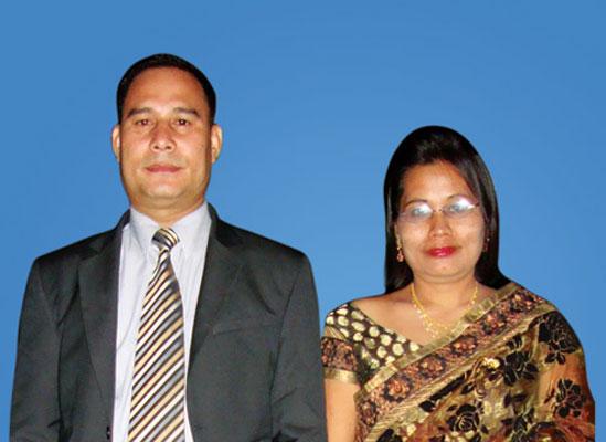 Bww Bhabeshwor & Indira Khundrakpamw