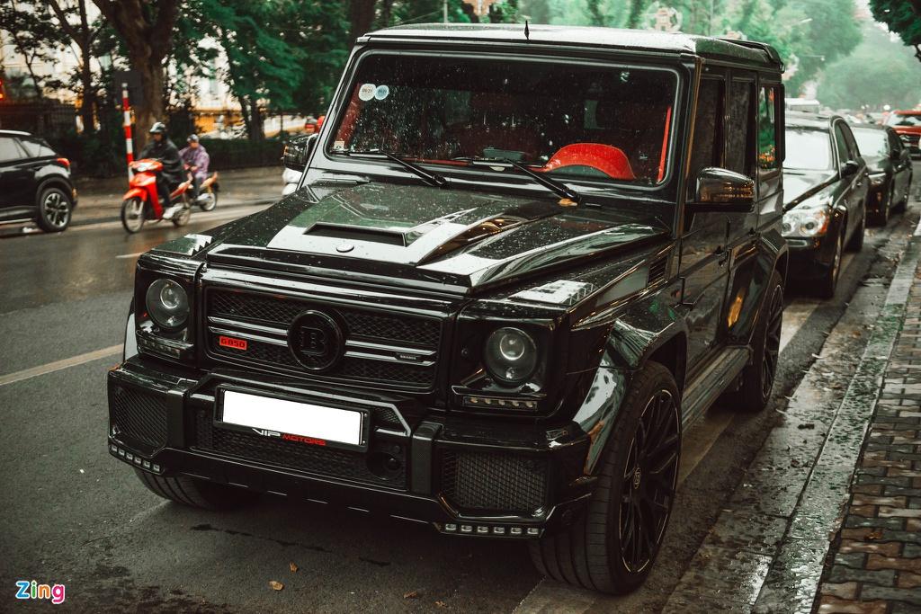Mercedes-AMG G 63 độ Brabus 850 hàng hiếm ở Hà Nội