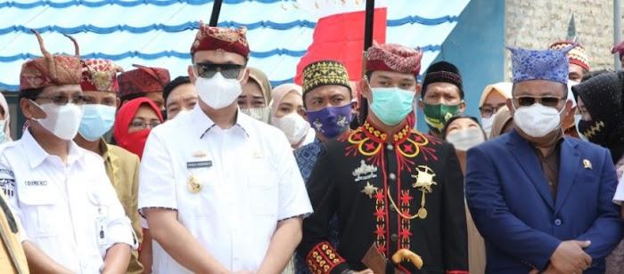 Sadide Dampingi Wakil Bupati Lamsel Silaturahmi ke Marga Dantaran