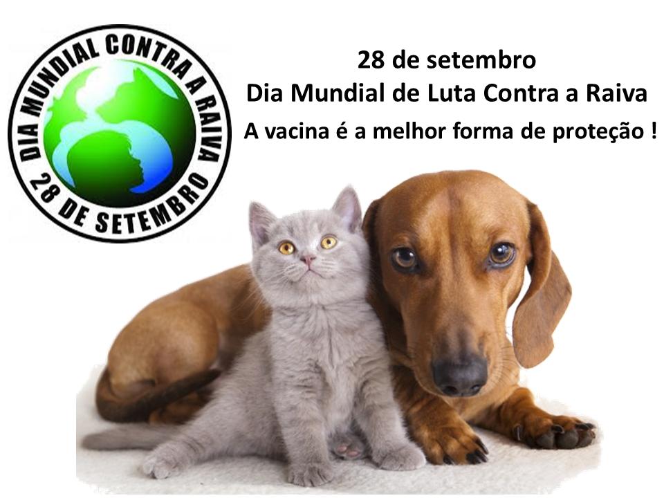 Centro de Controle de Zoonoses - Niterói/RJ: 28 de setembro - Dia Mundial de Luta contra a Raiva