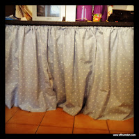 Kitchen storage curtains