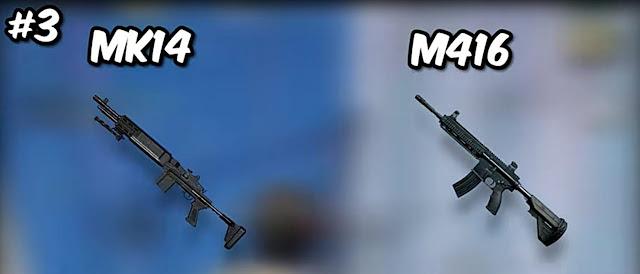Best Weapon combination in PUBG Lite 0.21.0 update