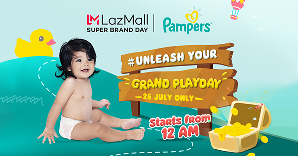 Lazada and Pampers