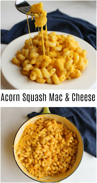 Make creamy macaroni and cheese healthier by adding acorn squash. This great hidden vegetable side dish is a perfect way to add an extra veggie to your plate without anyone knowing it!