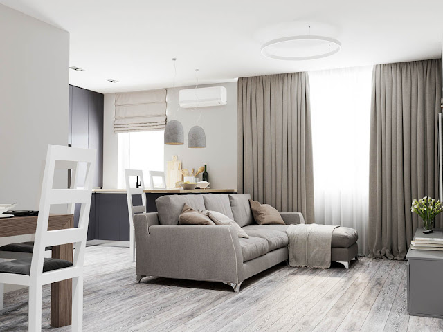 Use Grey for a Calming Effect on the Modern Homes