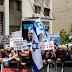 Manifestantes a favor y contra Netanyahu en el día de juicio por corrupción