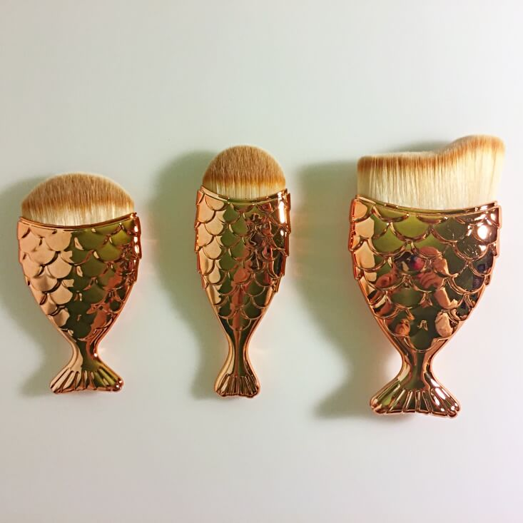 Gotta B' Urban Magical Mermaid brushes