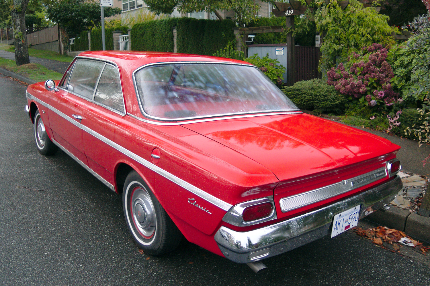 Old Parked Cars Vancouver 1964 Amc Rambler 770
