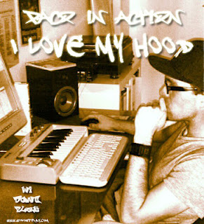 paco in action - I love my Hood front (Mixtape)