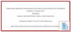 Contoh Format Blanko Ijazah UN & SHUN 2017 Sesuai PERMENDIKBUD No 14 Tahun 2017