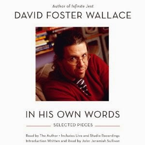 Book cover: David Foster Wallace - In His Own Words.  Image source: http://ecx.images-amazon.com/images/I/51yqd2pBLlL._SL300_.jpg