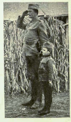 Serbian childred in service of Serbian army during the First World War