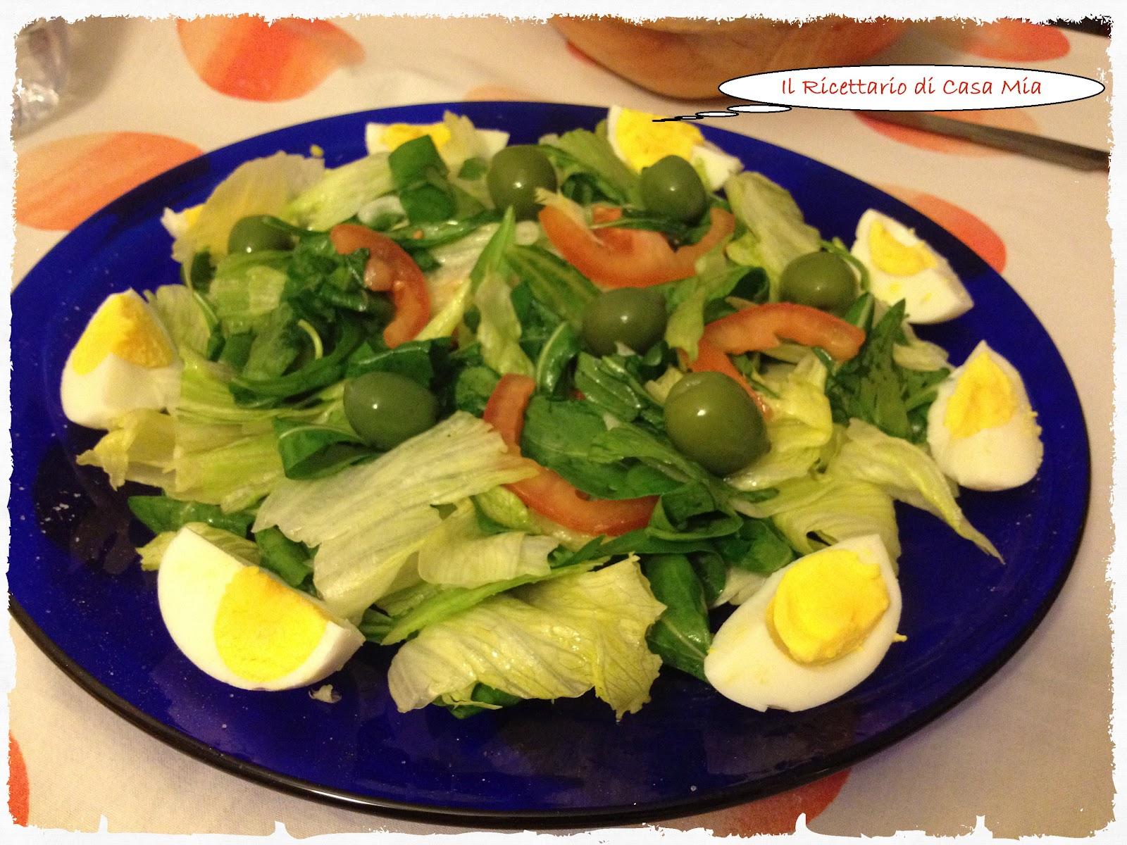 Il ricettario di casa mia insalata con uova sode for Cucinare uova sode