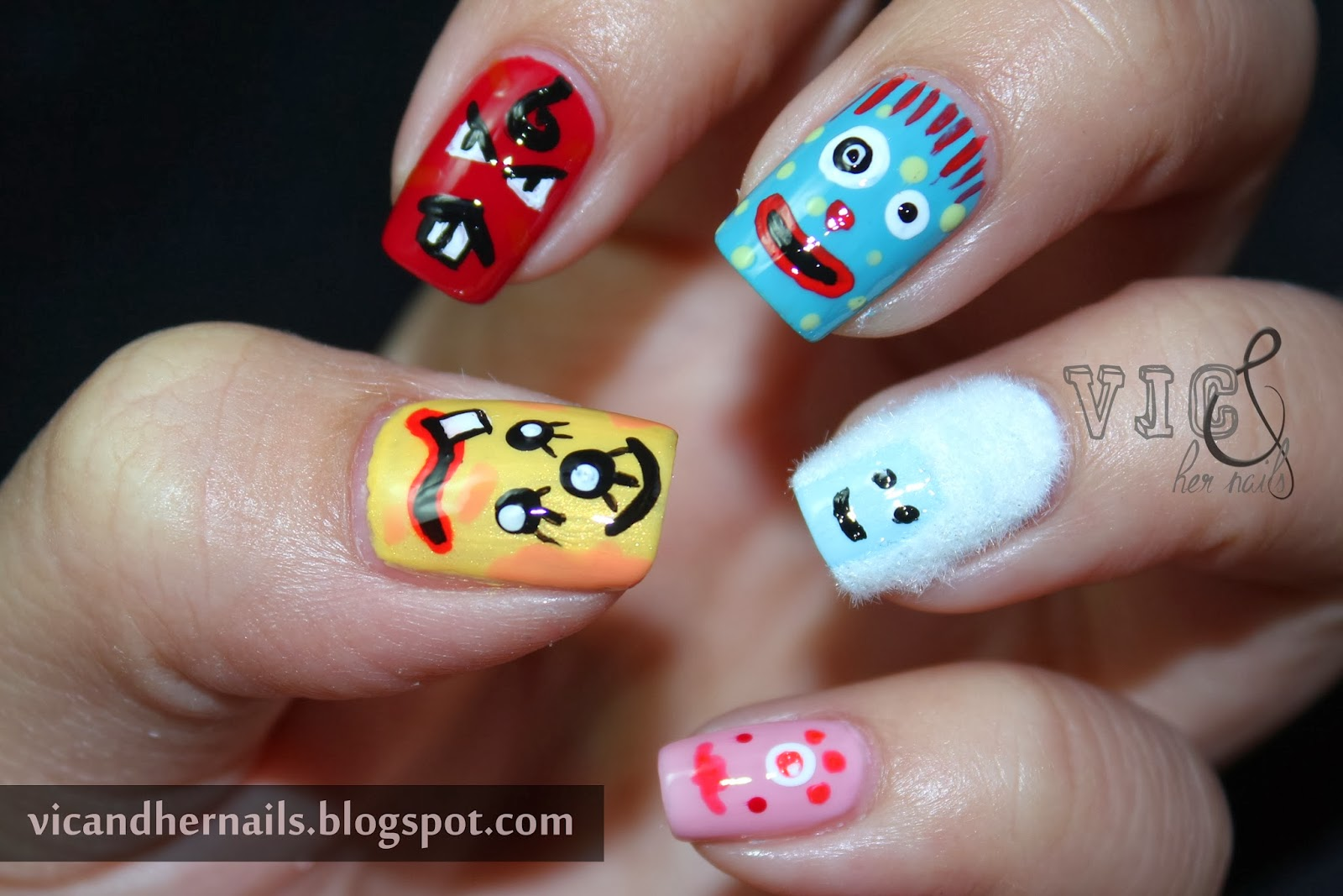 Vic and Her Nails: Halloween Nail Art Challenge + October ...