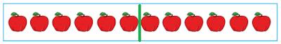 kumpulan buah apel dibagi dua www.simplenews.me