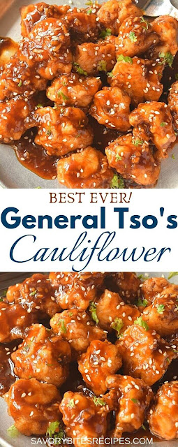 best ever general tsos cauliflower