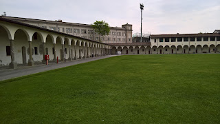 Il Lazzaretto, Bergamo: green space in middle.