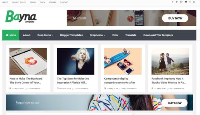 Blogger Premium Quality Templates Download