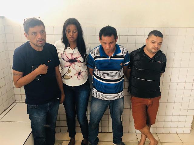 Flagrante: Quadrilha de estelionatários de São Luís é presa pela PM em Chapadinha