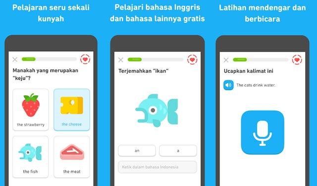 Duolingo Aplikasi Belajar Bahasa Inggris