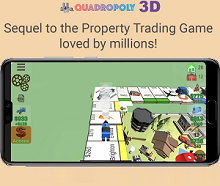 Board Game of the Month - Quadropoly 3D