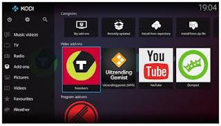 تطبيق, تشغيل, الوسائط, المتعددة, والقنوات, الفضائية, على, الهاتف, Kodi