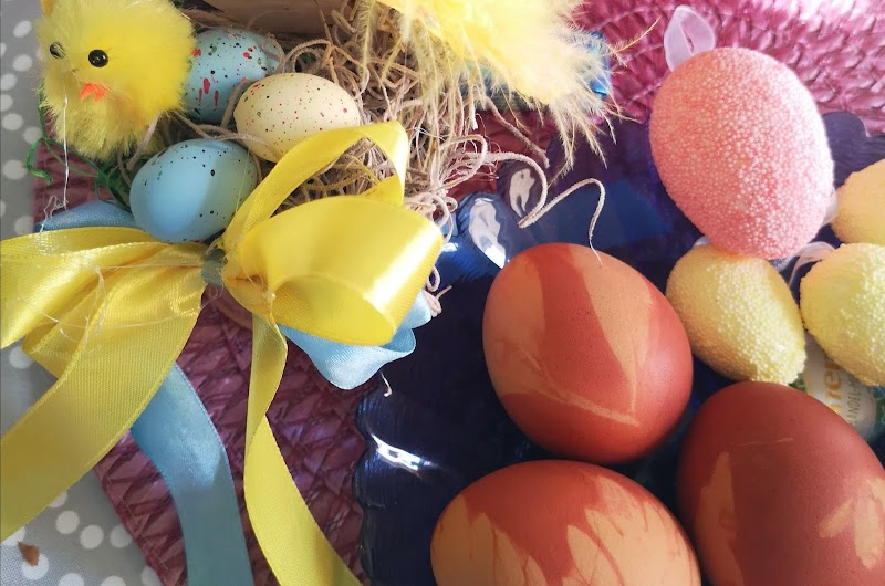 #146 ~ Húsvéti tojás - vöröshagymahéjjal
