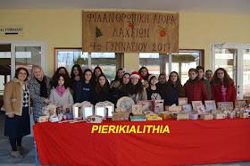 Φιλανθρωπική Αγορά Αγάπης από το 4ο Γυμνάσιο Κατερίνης. (ΦΩΤΟ)