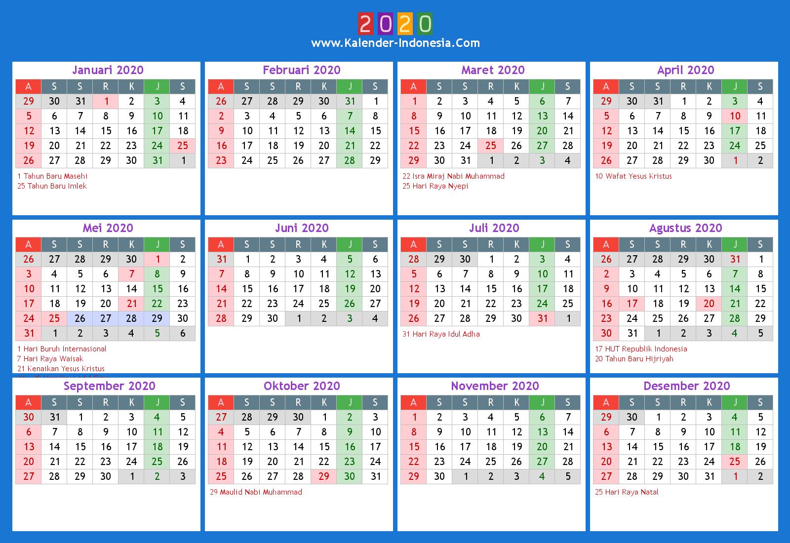 Online Kalender 2020 Kalender Plan