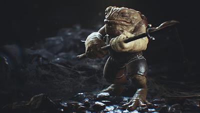 UE4 - Frog Warrior Spearman by Alexander Sychov