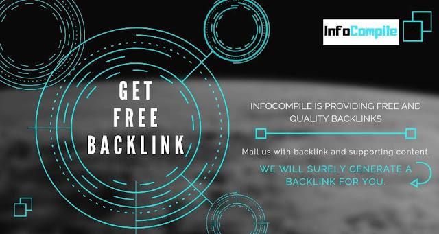 Free Backlink Online | Generate free back link online | Quality Back-link
