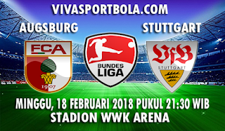 Prediksi Augsburg vs Stuttgart 18 Februari 2018