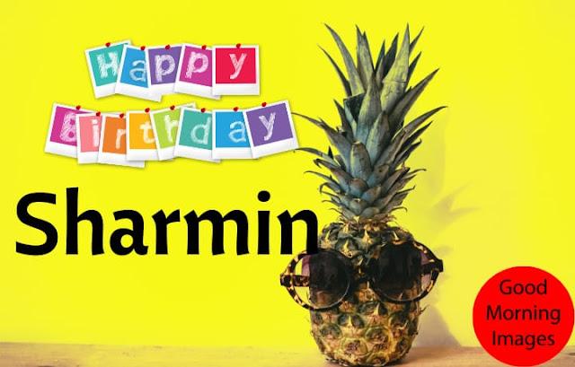 wishing birthday with name