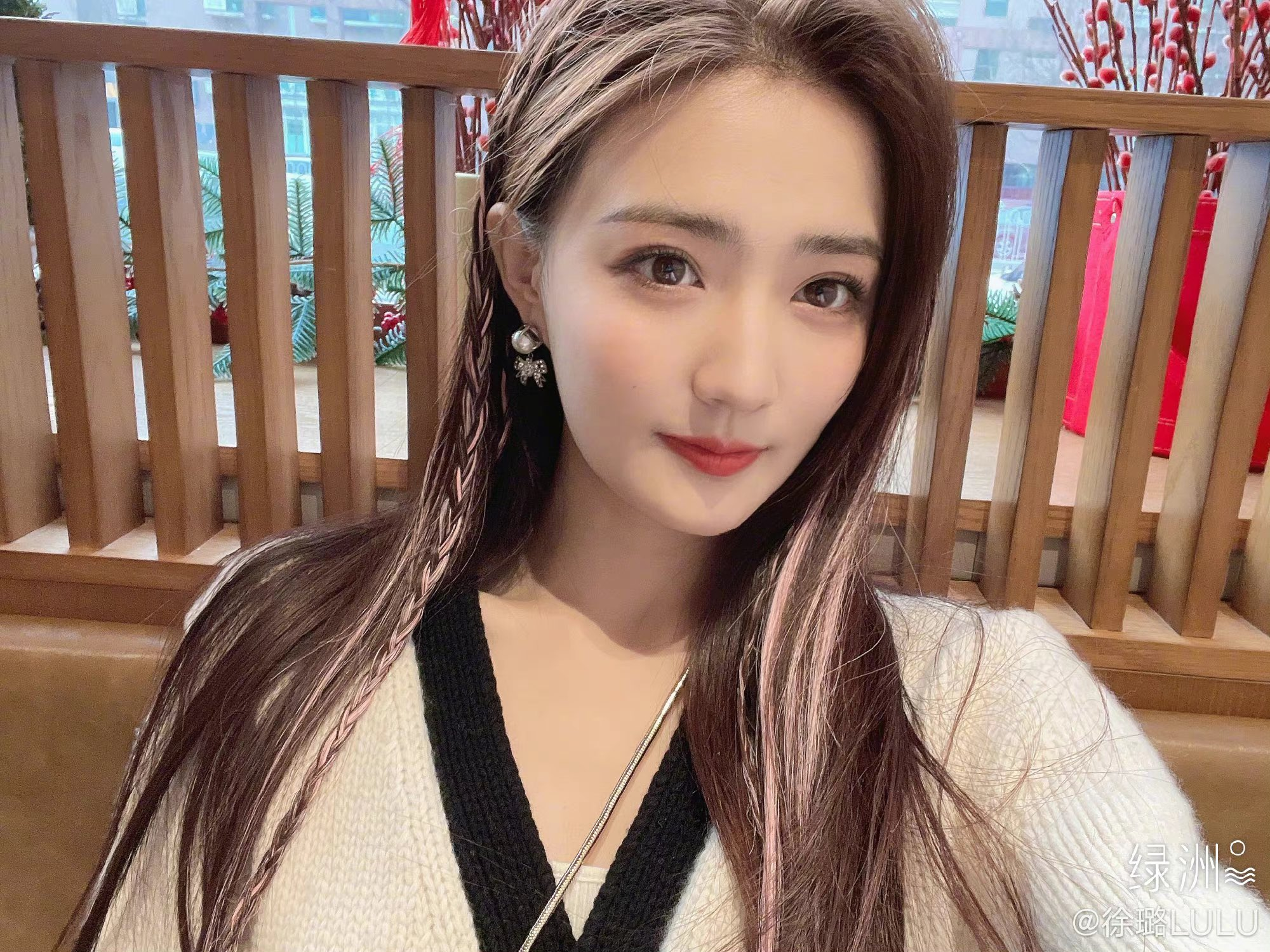 , Xu Lu poses for photo shoot