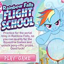 Rainbow Falls Flight School my little pony