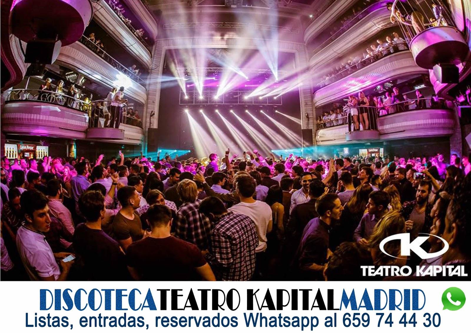Discoteca kapital madrid 659 744 430 whatsapp fiestas for Kapital jueves gratis