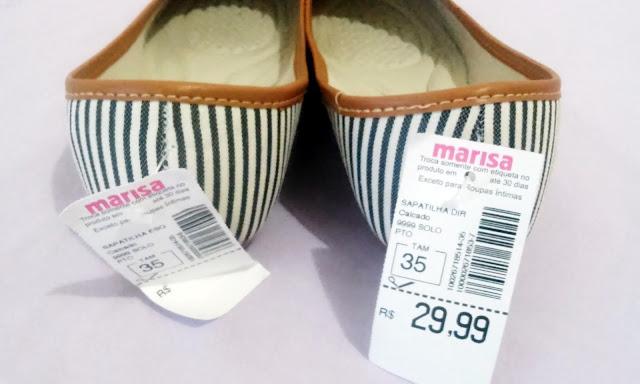 Achegue-se! Dicas de calçados: Sapatilha - Loja Marisa