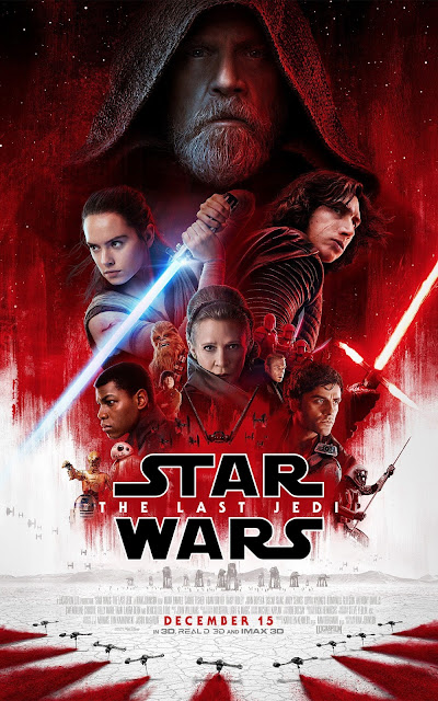 Star Wars Episode VIII The Last Jedi movie poster