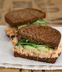 roasted salmon sandwich with chipotle mayo recipe