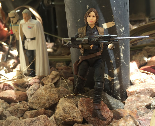 Jyn Erso, Black Series, Director Krennic, Scarif Trooper