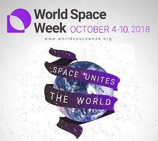 World Space Week - October 4-10, 2018