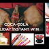Coca Cola Holiday Instant Win Giveaway -369,000 Winners!! Win Movie Tickets, Coca Cola Pen Sets, Lip Smakers Lip Balm Sets, Phone Grips, Free Drink or Popcorn at AMC Movies and More! Daily Entry, Ends 12/20/19