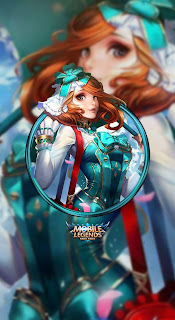 Kagura Flower Season Heroes Mage of Skins V4