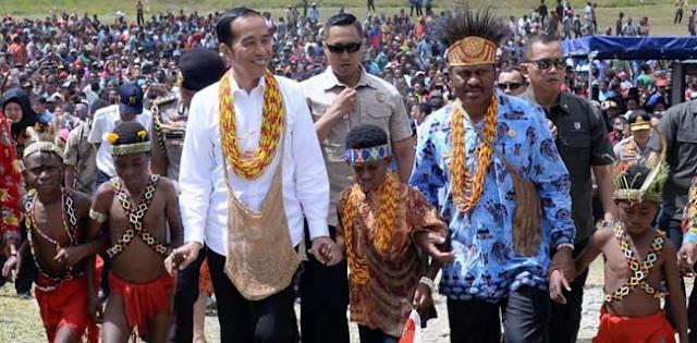 Dengar Aspirasi Gubernur Dan Bupati Soal Hasil Pertanian Arfak, Jokowi Janji Bereskan Masalah Infrastruktur, janji lagi?