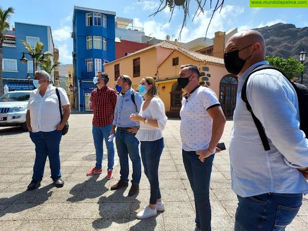 El Cabildo reabre mañana el sendero del Puerto de Tazacorte - El Time tras concluir en su integridad las obras de seguridad